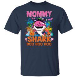 Family Birthday Ideas Mommy Baby Shark Halloween Birthday T-Shirt 23 of Sapelle
