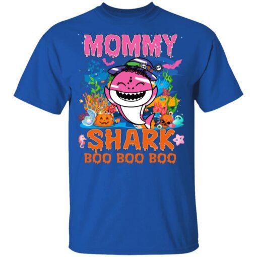 Family Birthday Ideas Mommy Baby Shark Halloween Birthday T-Shirt 12 of Sapelle