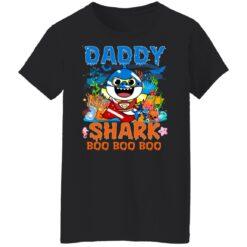 Family Birthday Ideas Daddy Baby Shark Halloween Birthday T-Shirt 41 of Sapelle