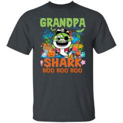 Family Birthday Ideas Grandpa Baby Shark Halloween Birthday T-Shirt 19 of Sapelle