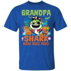Family Birthday Ideas Grandpa Baby Shark Halloween Birthday T-Shirt 39 of Sapelle