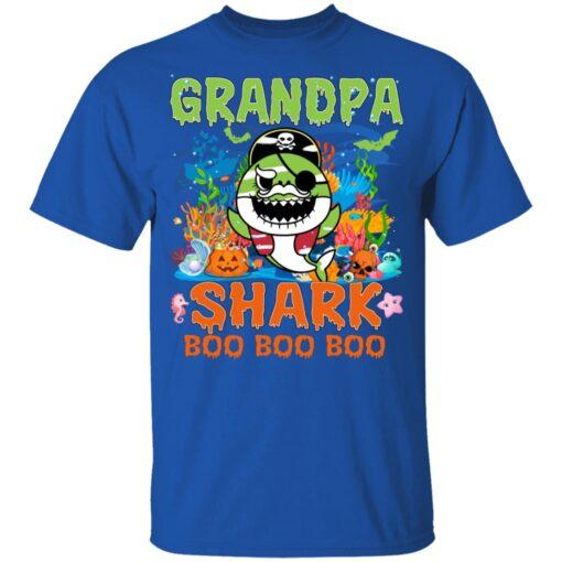 Family Birthday Ideas Grandpa Baby Shark Halloween Birthday T-Shirt 12 of Sapelle