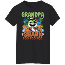 Family Birthday Ideas Grandpa Baby Shark Halloween Birthday T-Shirt 41 of Sapelle