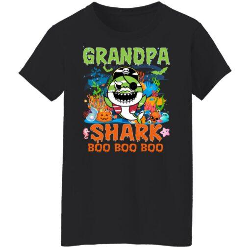 Family Birthday Ideas Grandpa Baby Shark Halloween Birthday T-Shirt 13 of Sapelle