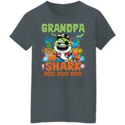 Family Birthday Ideas Grandpa Baby Shark Halloween Birthday T-Shirt 43 of Sapelle