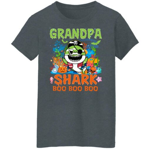 Family Birthday Ideas Grandpa Baby Shark Halloween Birthday T-Shirt 14 of Sapelle