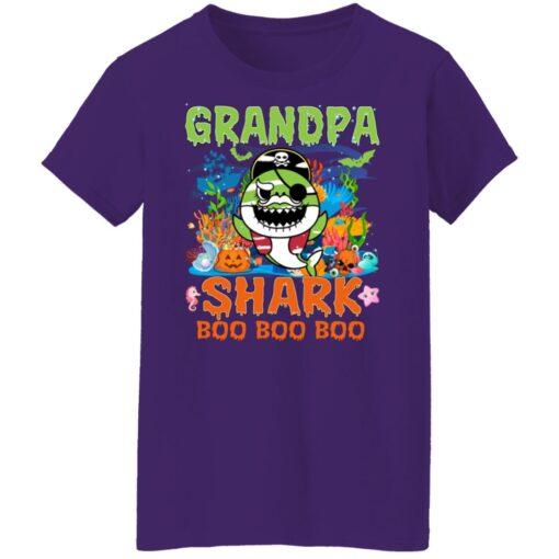 Family Birthday Ideas Grandpa Baby Shark Halloween Birthday T-Shirt 17 of Sapelle