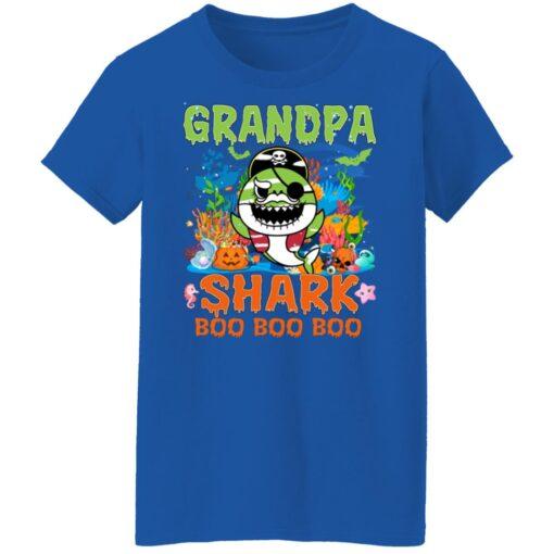 Family Birthday Ideas Grandpa Baby Shark Halloween Birthday T-Shirt 18 of Sapelle