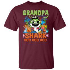 Family Birthday Ideas Grandpa Baby Shark Halloween Birthday T-Shirt 21 of Sapelle