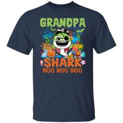 Family Birthday Ideas Grandpa Baby Shark Halloween Birthday T-Shirt 23 of Sapelle