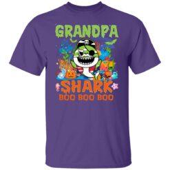 Family Birthday Ideas Grandpa Baby Shark Halloween Birthday T-Shirt 25 of Sapelle