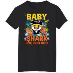 Family Birthday Ideas Baby Shark Boo Boo Halloween Birthday T-Shirt 41 of Sapelle