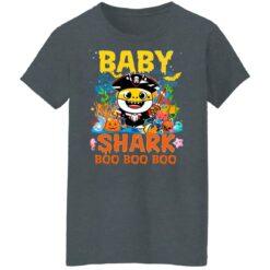 Family Birthday Ideas Baby Shark Boo Boo Halloween Birthday T-Shirt 43 of Sapelle