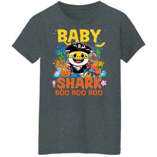 Family Birthday Ideas Baby Shark Boo Boo Halloween Birthday T-Shirt 14 of Sapelle