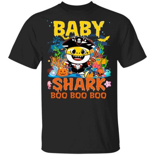 Family Birthday Ideas Baby Shark Boo Boo Halloween Birthday T-Shirt 7 of Sapelle
