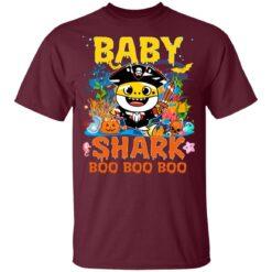 Family Birthday Ideas Baby Shark Boo Boo Halloween Birthday T-Shirt 33 of Sapelle