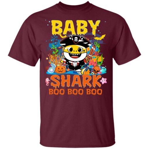 Family Birthday Ideas Baby Shark Boo Boo Halloween Birthday T-Shirt 9 of Sapelle