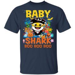 Family Birthday Ideas Baby Shark Boo Boo Halloween Birthday T-Shirt 35 of Sapelle