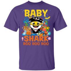 Family Birthday Ideas Baby Shark Boo Boo Halloween Birthday T-Shirt 37 of Sapelle