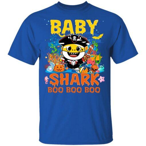 Family Birthday Ideas Baby Shark Boo Boo Halloween Birthday T-Shirt 12 of Sapelle