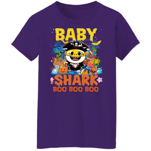 Family Birthday Ideas Baby Shark Boo Boo Halloween Birthday T-Shirt 17 of Sapelle
