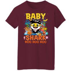 Family Birthday Ideas Baby Shark Boo Boo Halloween Birthday T-Shirt 45 of Sapelle