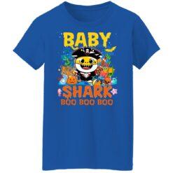 Family Birthday Ideas Baby Shark Boo Boo Halloween Birthday T-Shirt 51 of Sapelle